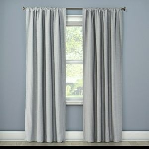 "Project 62: 63""×50"" curtain pair"